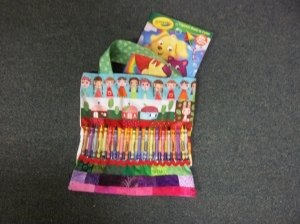 Art & Crayon Holder Bag