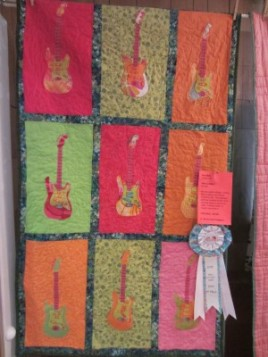 3rd Place Art Quilt: Pam Wick