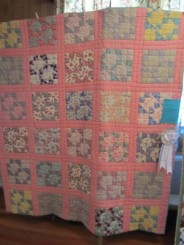 3rd Place Hand Quilting: Joyce Weaver