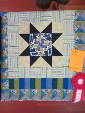 2nd Place Machine Quilting: Wanda Niemi