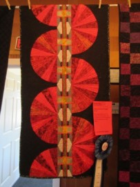 1st Place Small Quilt: Shirley Dilley