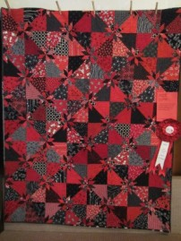 2nd Place Small Quilt: Carey Ravare