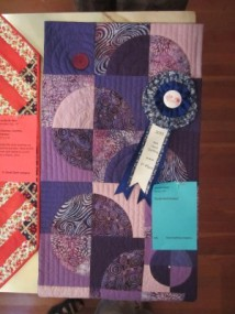 1st Place Hand Quilting: Wand Niemi