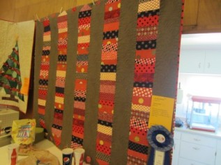 1st Place Machine Quilting: Lisa Bee-Wilson
