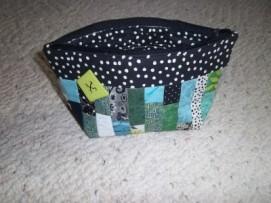#12 - Seaglass Bag with Button