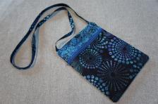 SOLD! #12 Batik Zipper Bag