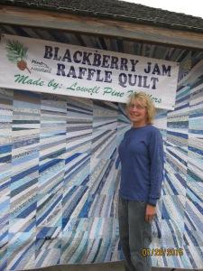 Raffle Quilt Winner 2015