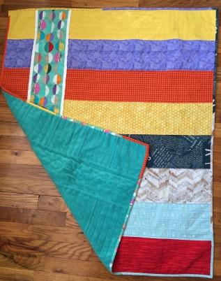 #7:Baby quilt
