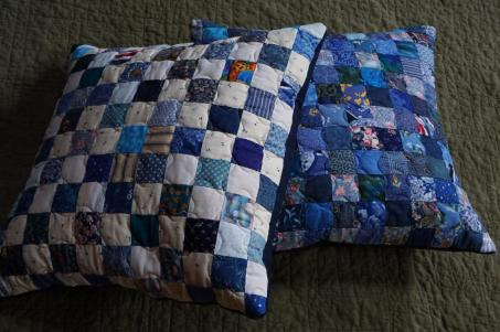 #11:Two Checkerboard Pillows