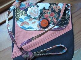 #4 - Asian Fabric Purse