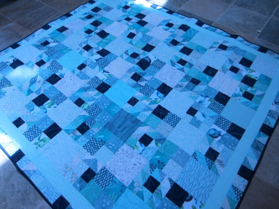 #7 - Teal Waters Quilt