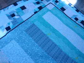 #7 - Back of Teal Waters Quilt