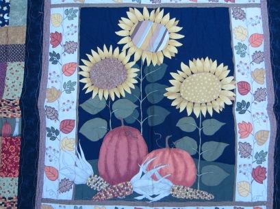 #8 - Closeup Sunflower Quilt