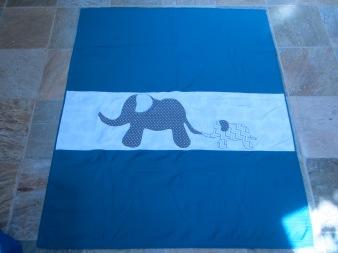 #9 - Elephant Baby Quilt